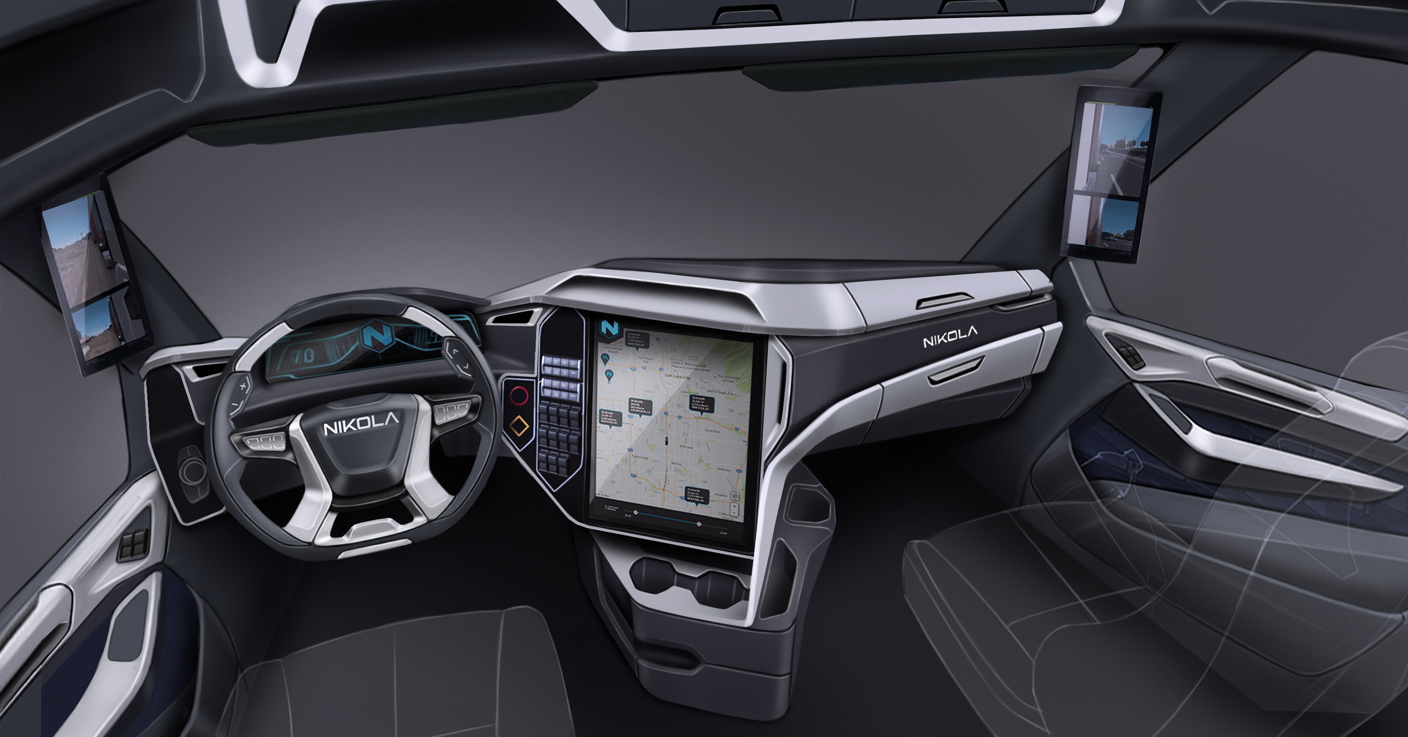 Nikola One Interior