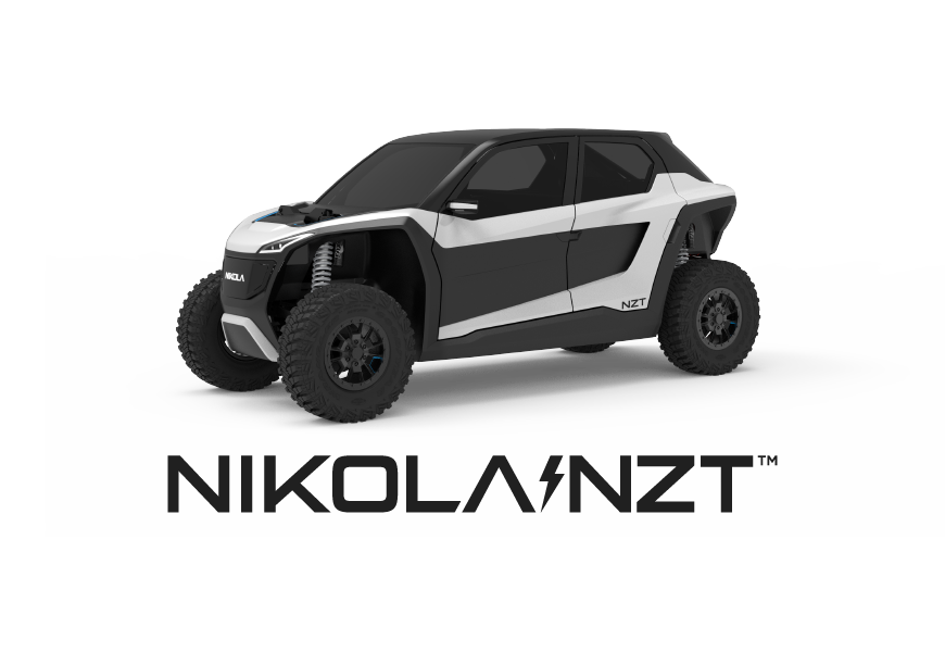 Nikola nzt logo enclosed