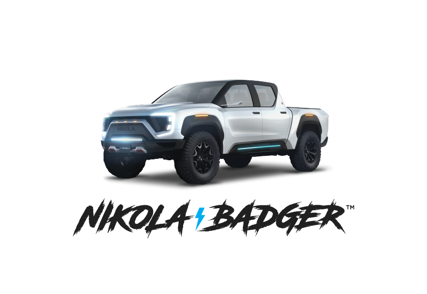 Nikola badger icon